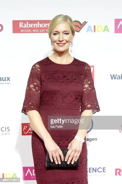 Austrian actress Katja Weitzenboeck attends the 'Goldene Bild der Frau' award at Hamburg Cruise Center on October 21 2017 in Hamburg Germany
