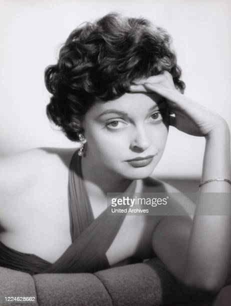 Austrian actress Nadja Tiller Germany circa 1958