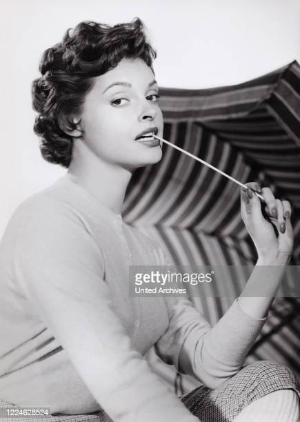 "Austrian actress Nadja Tiller in the movie ""Gripsholm"", Germany, 1963. ."