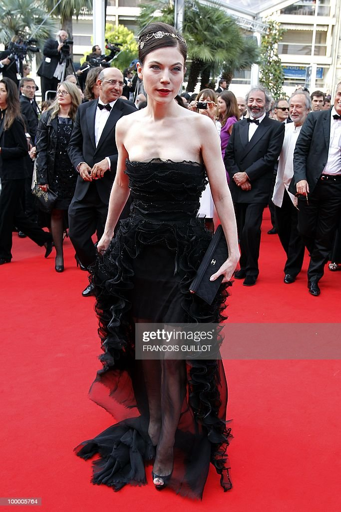 Austrian actress Nora Von Waldstatten playing in the film 'Carlos' arrives for the screening of 'Poetry' presented in competition at the 63rd Cannes Film Festival on May 19, 2010 in Cannes.