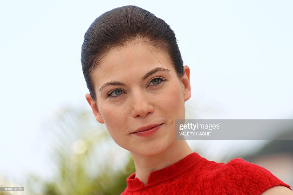 Austrian actress Nora Von Waldstatten poses during the photocall of 'Carlos' presented out of competition at the 63rd Cannes Film Festival on May 20, 2010 in Cannes.
