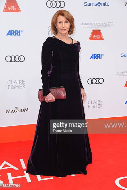 Austrian actress Senta Berger attends the German Film Ball 2017 at Hotel Bayerischer Hof on January 21 2017 in Munich Germany