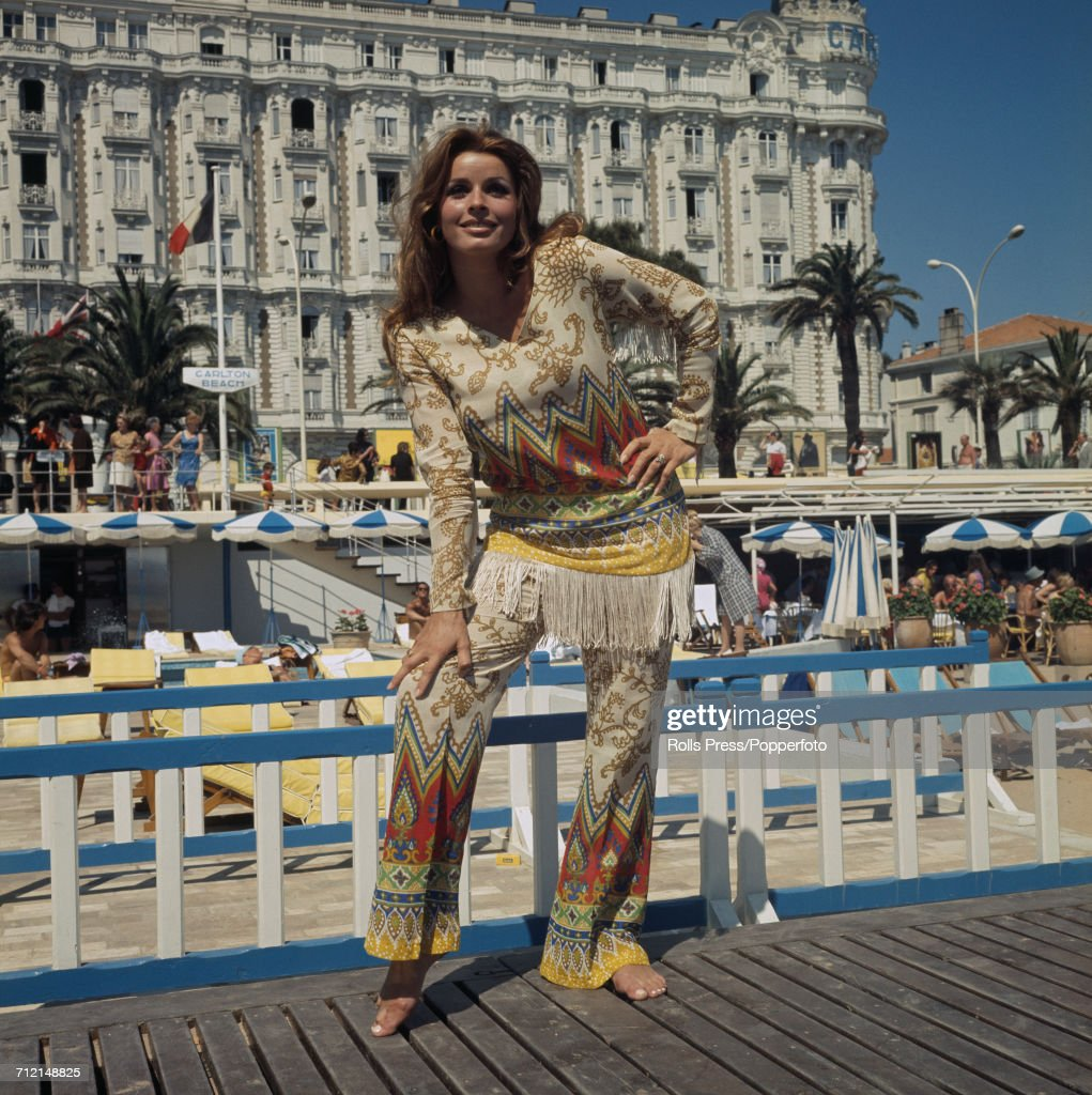 Senta Berger In Cannes : News Photo