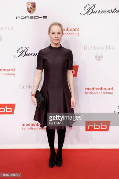 Austrian actress Susanne Wuest attends the Medienboard Berlin-Brandenburg Reception on the occasion of the 69th Berlinale International Film Festival...