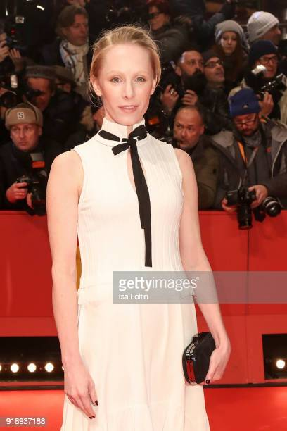 Austrian actress Susanne Wuest attends the Opening Ceremony 'Isle of Dogs' premiere during the 68th Berlinale International Film Festival Berlin at...