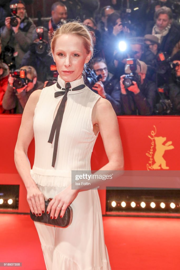 Austrian actress Susanne Wuest attends the Opening Ceremony & 'Isle of Dogs' premiere during the 68th Berlinale International Film Festival Berlin at Berlinale Palace on February 15, 2018 in Berlin, Germany.