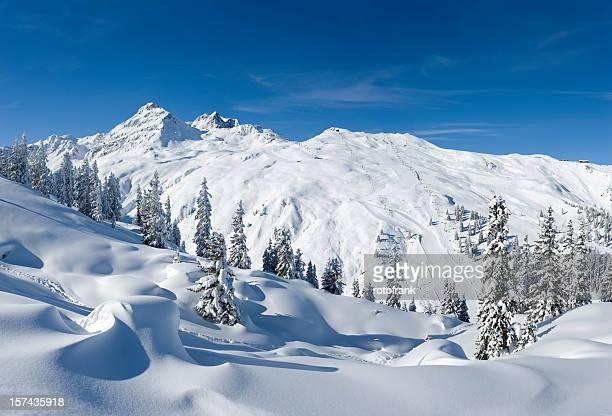 Österreichischen Alpen (Bildgröße XXXL
