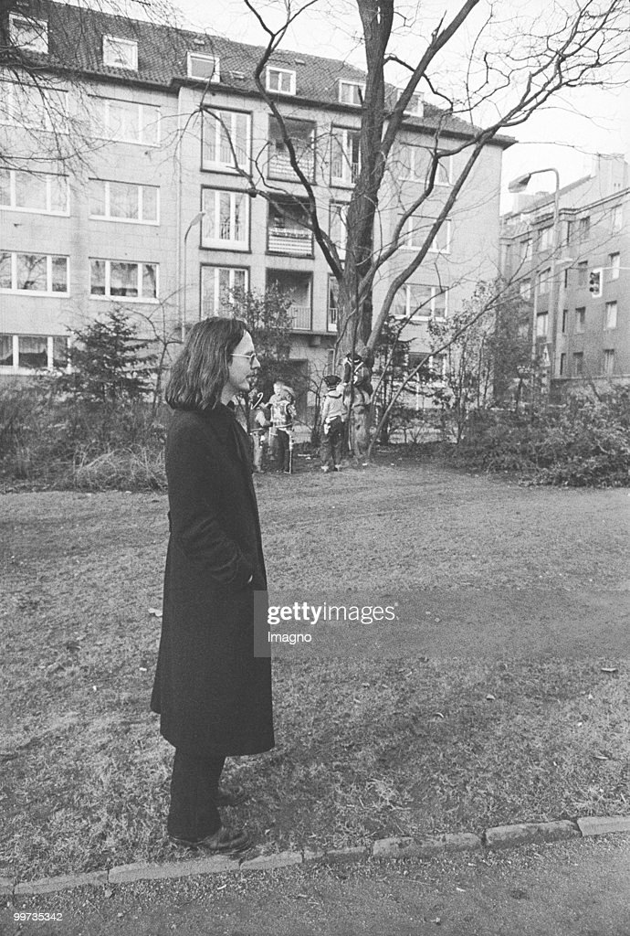 Austrian author Peter Handke. Duesseldorf. Photograph. 1971 (Photo by Otto Breicha