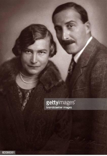 Austrian author Stefan Zweig and his wife Friderike Photograph 1925 [Der sterreichische Autor Stefan Zweig mit seiner Frau Friderike Photographie...
