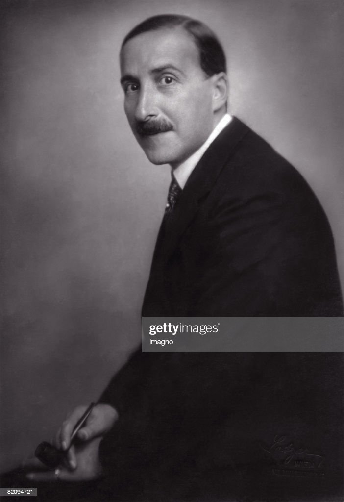 Austrian author Stefan Zweig, Photograph, 1925 : Fotografía de noticias