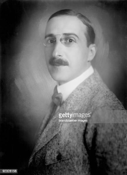 Austrian author Stefan Zweig Vienna Photograph 1920