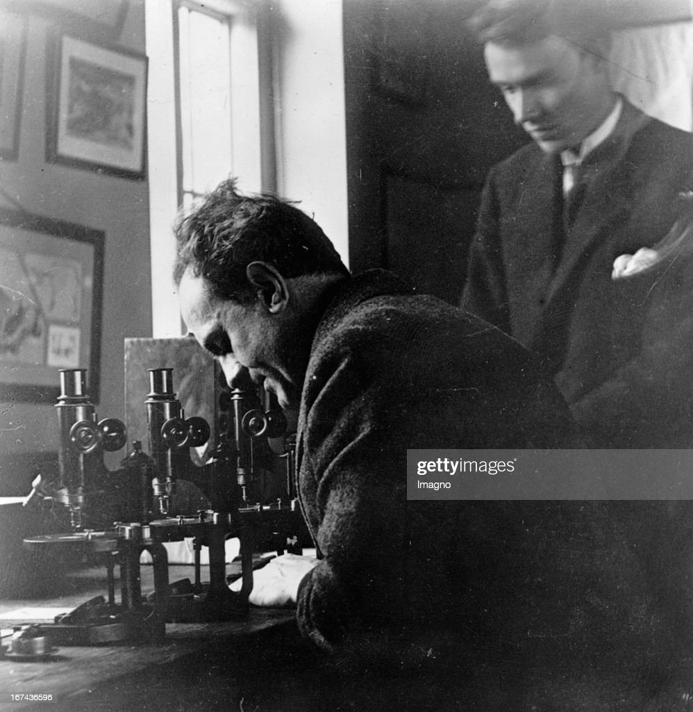 Austrian biologist Paul Kammerer. About 1925. Photograph. (Photo by Imagno/Getty Images) Der österreichische Biologe Paul Kammerer. Um 1925. Photographie.