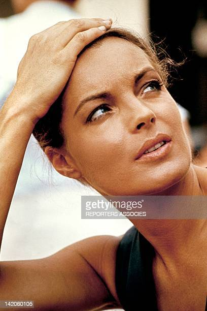 Austrian born actress Romy Schneider in the seventies