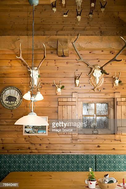 Austrian cabin interior