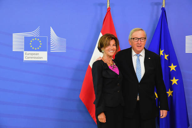 BEL: Heads Of State Attend The EU Summit