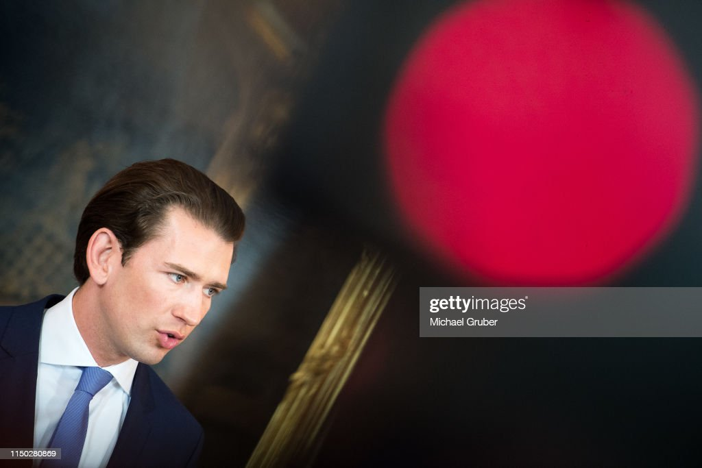 AUT: Kurz And Van Der Bellen Meet To Discuss Snap Elections