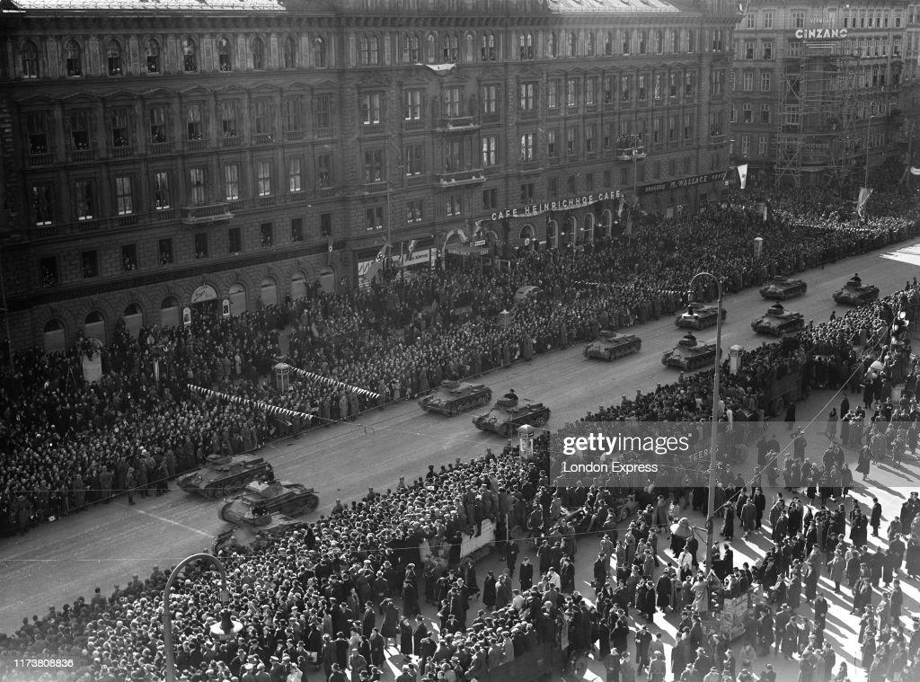 Anschluss Vienna 1938 : News Photo