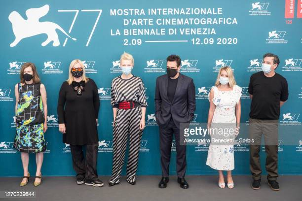 Austrian director Veronika Franz, Jury President of the 77th Venice Film festival, Australian-US actress Cate Blanchett, Jury member of the 77th...