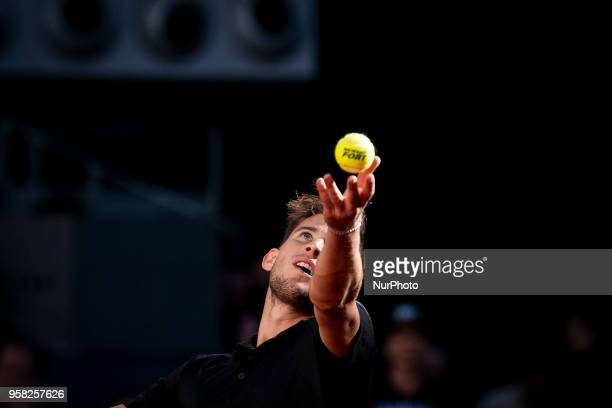 Austrian Dominic Thiem during Finals of Mutua Madrid Open at Caja Magica in Madrid Spain May 13 2018