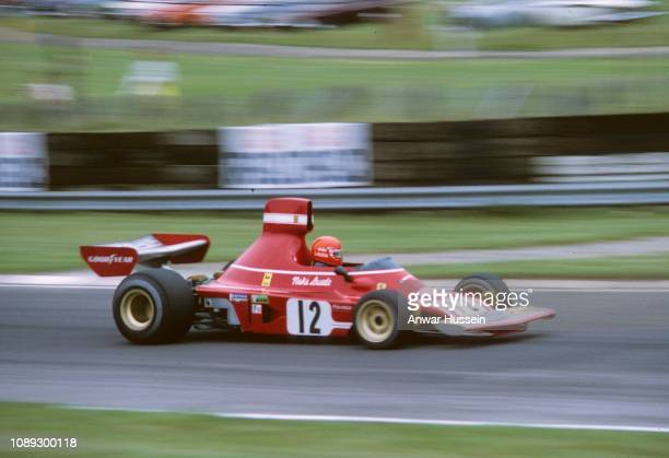 Austrian F1 racing driver Niki Lauder at Brands Hatch on July 01 1974 in Brands Hatch England