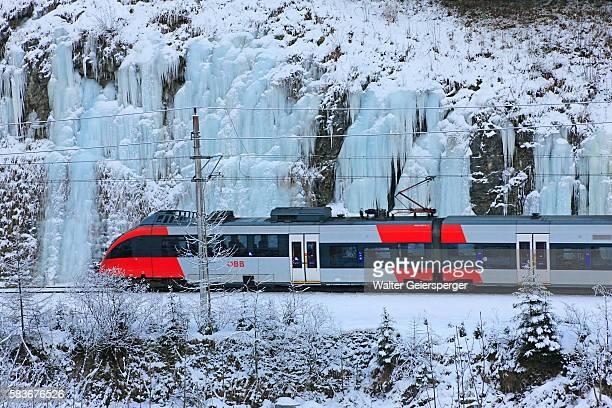 Austrian Federal Railways in Winter