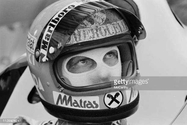 Austrian Formula One driver Niki Lauda at the Dutch Grand Prix Circuit Park Zandvoort Netherlands 1st September 1977