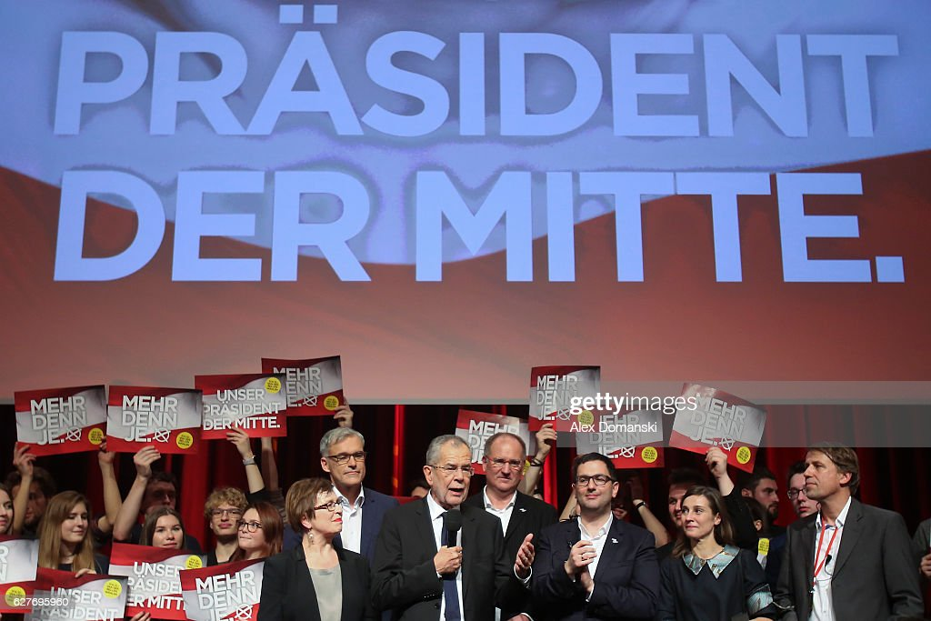 Austria Holds Presidential Election : News Photo