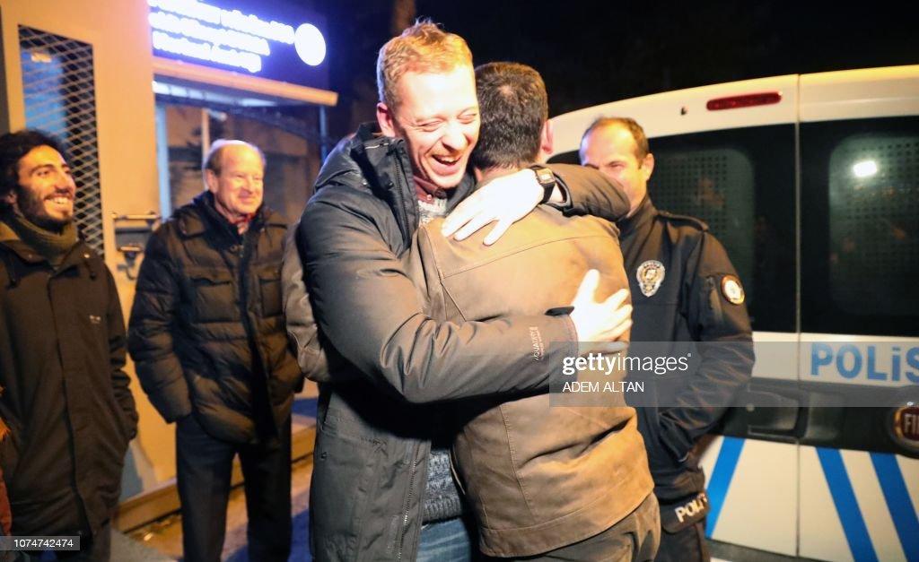 TURKEY-AUSTRIA-ARREST-MEDIA : News Photo