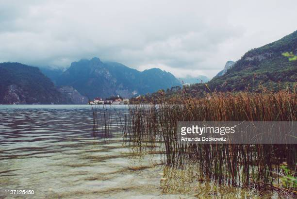 austrian lake - amanda and amanda stock pictures, royalty-free photos & images