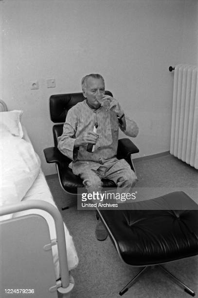 Austrian master of the art of living Poldi Waraschitz, Germany, 1960s.