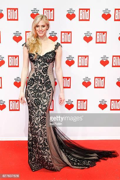 Austrian model Larissa Marolt attends the Ein Herz Fuer Kinder gala on December 3 2016 in Berlin Germany