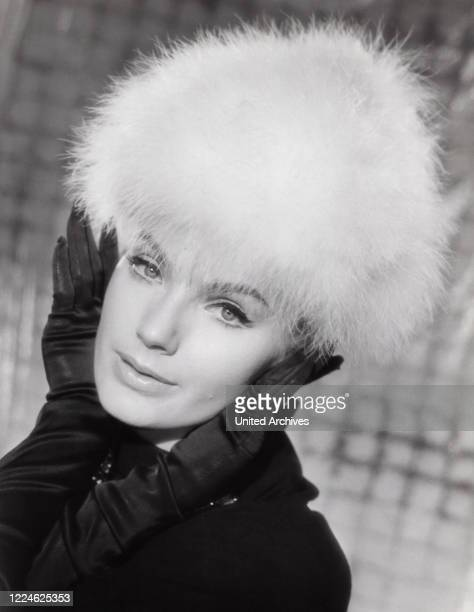 Austrian movie actress Maria Perschy, Germany, 1960s. .
