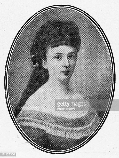 Austrian novelist and pacifist Baroness Bertha von Suttner winner of the Nobel Peace Prize in 1905