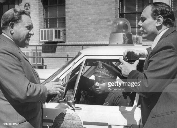 Austrian police and prison officials visit Denver During Goodwill tour of United states About 85 Austrian officials many accompanied by their wives...