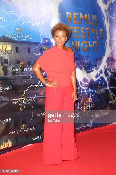 Austrian presenter Arabella Kiesbauer attend the Remus Lifestyle Night on August 1 2019 in Palma de Mallorca Spain