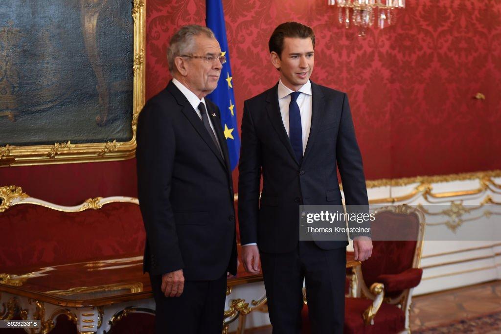 Austrian President Meets Election Winner Sebastian Kurz