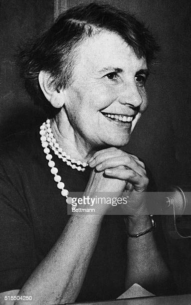 Austrian psychoanalyst Anna Freud daughter of Sigmund Freud pioneered the field of child psychoanalysis