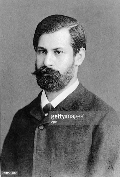 Austrian psychoanalyst Sigmund Freud c 1890