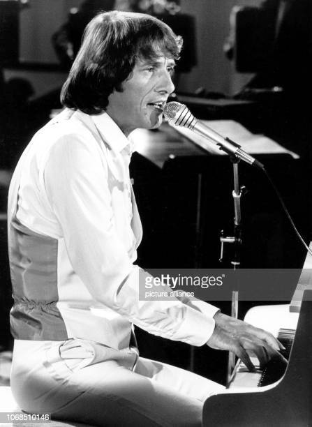 Austrian singer and songwriter Udo Juergens during a show on 16 September 1980 in Cologne Juergens celebrates his 70th birthday on 30 September 2004...