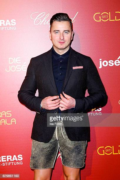 Austrian singer Andreas Gabalier attends the 22th Annual Jose Carreras Gala on December 14 2016 in Berlin Germany