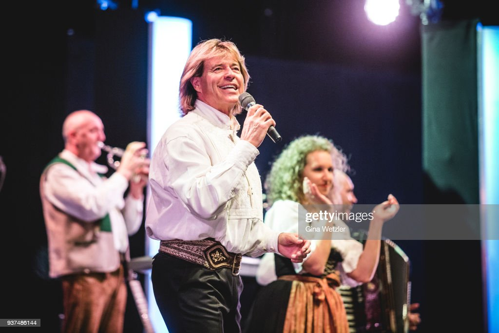 hansi hinterseer performs in berlin photos and images getty images