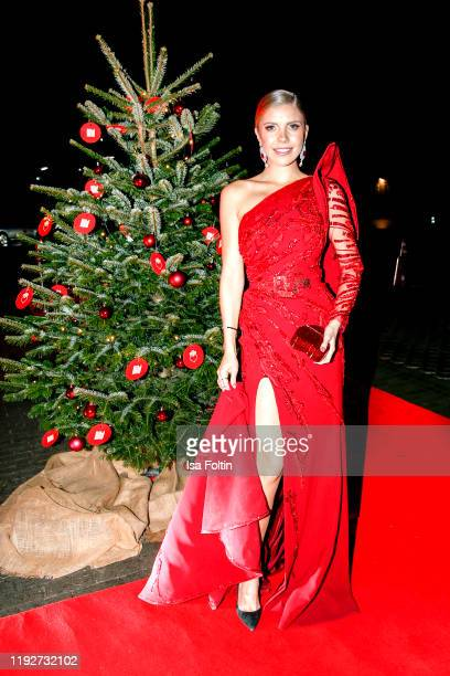 """Austrian singer-songwriter and presenter Victoria Swarovski during the Daimlers """"BE A MOVER"""" event at Ein Herz Fuer Kinder Gala at Studio Berlin..."""