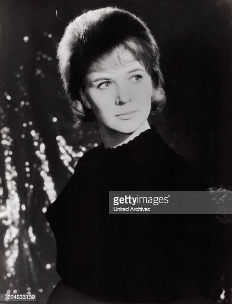 Austrian Swiss actress Christiane Hoerbiger Germany circa 1961