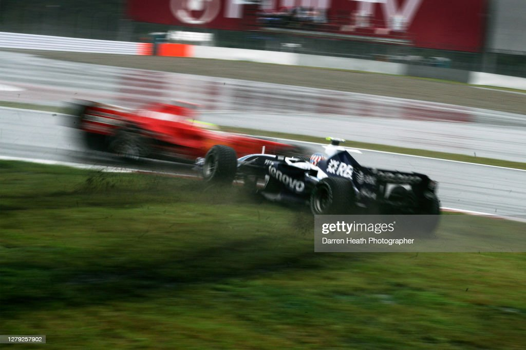 Alex Wurz, Williams, 2007 Japanese Grand Prix : News Photo