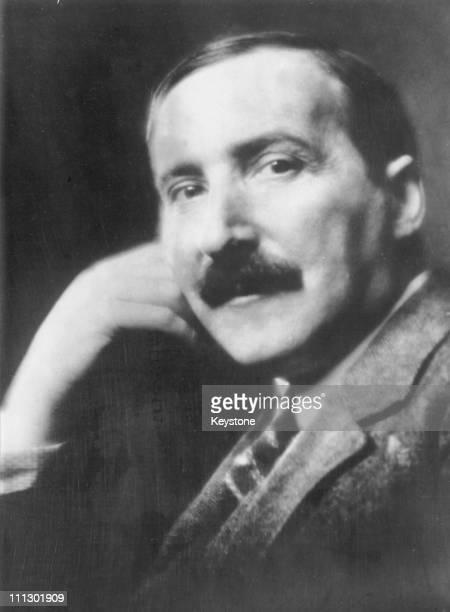 Austrian writer Stefan Zweig 1931