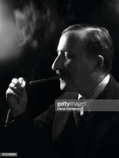Austrian writer Stefan Zweig London 1938