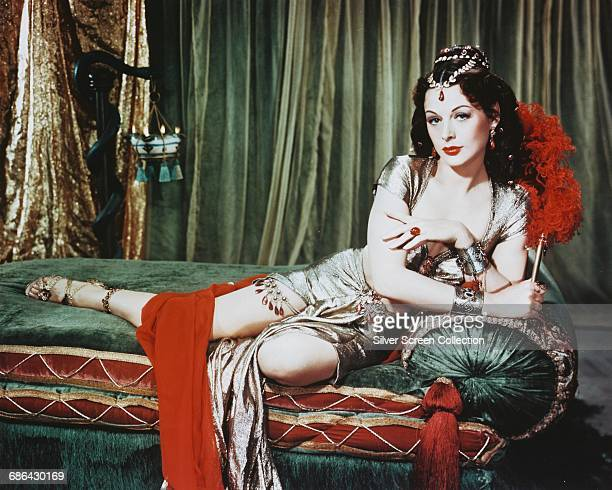 AustrianAmerican actress Hedy Lamarr as Delilah in the biblical film 'Samson and Delilah' 1949