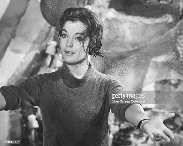 Austrianborn actress Romy Schneider circa 1962