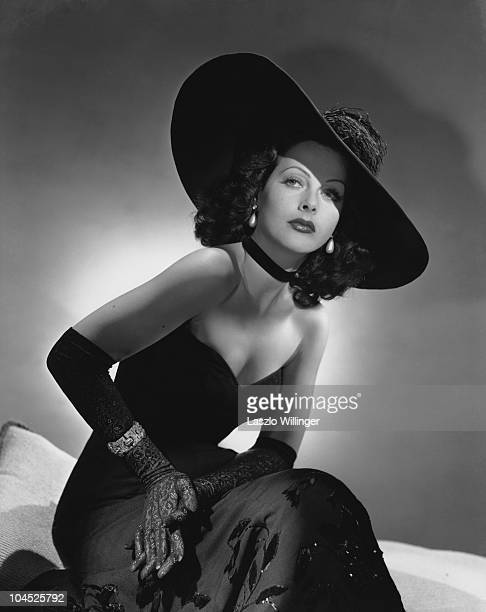 Austrian-born American actress Hedy Lamarr , 6th October 1943.