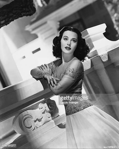 Austrian-born American actress Hedy Lamarr , circa 1940.